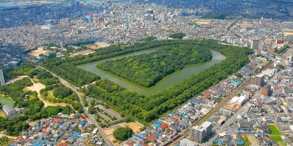 La plus grande tombe du monde en forme de tumulus